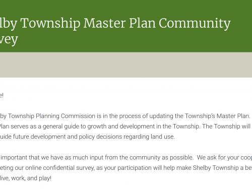 Shelby Township Master Plan Community Survey